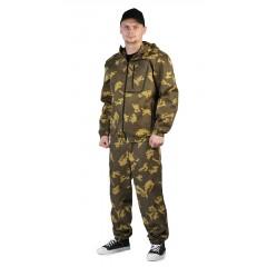 "Костюм ""Турист 1"" куртка/брюки цвет: кмф ""Граница хаки"" ткань: Грета"