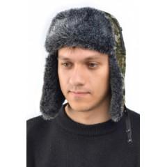 """Шапка-ушанка """"Ангара"""" иск.мех (цвета в ассортименте)"""